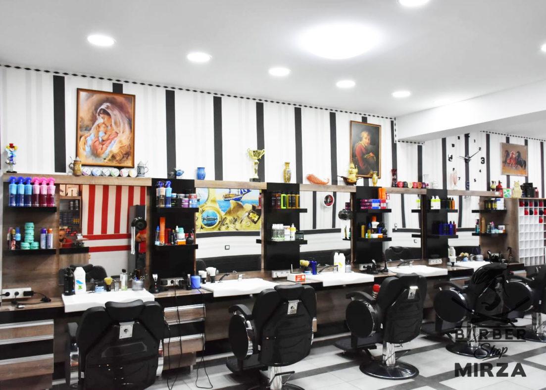 Barbershop Mirza Innen